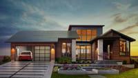 Elon Musk dévoile son toit solaire