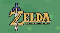 Zelda Breath of the Wild passe en 2D