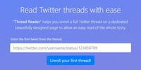 Comment lire confortablement les threads sur Twitter ?