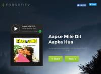 Forgotify : écoutez les chansons oubliées de Spotify
