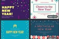 Générateur, cartes, réseaux sociaux : des vœux originaux pour entrer en 2019