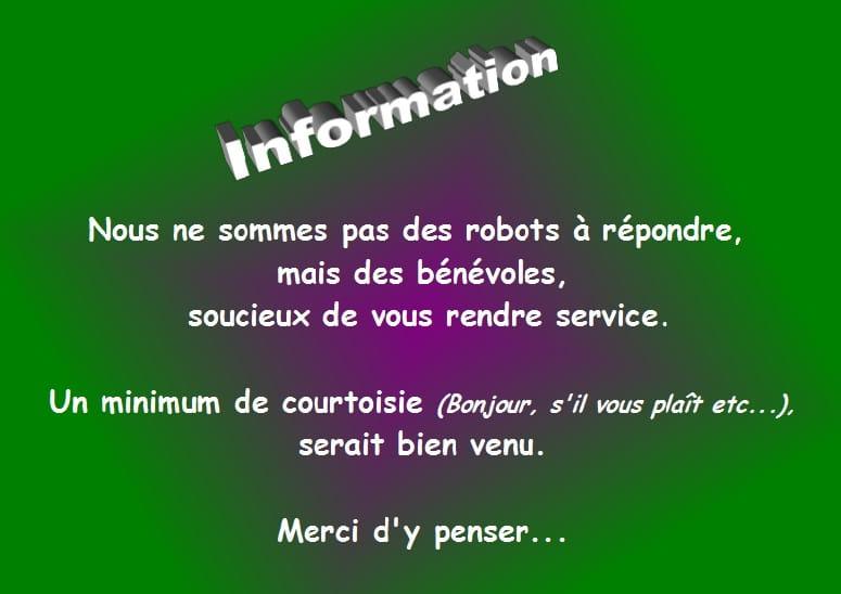 """Résultat de recherche d'images pour """"courtoisie forum bonjour merci"""""""