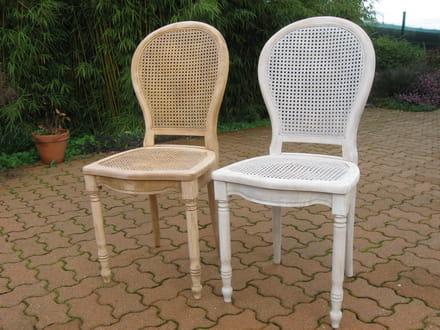 peindre un cannage de chaise [résolu] - Comment Repeindre Une Chaise En Bois