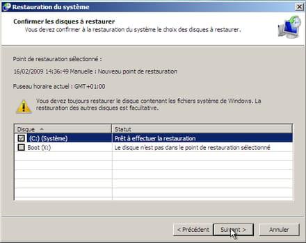 Restaurer Pc Windows Vista Sans Cd