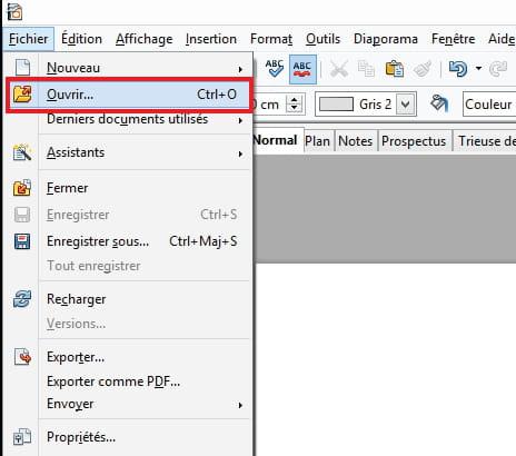 Openoffice comment verrouiller un document avec un mot - Comment faire un diaporama avec open office ...