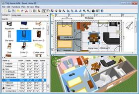 meilleur logiciel de plan de maison et d 39 am nagement int rieur. Black Bedroom Furniture Sets. Home Design Ideas