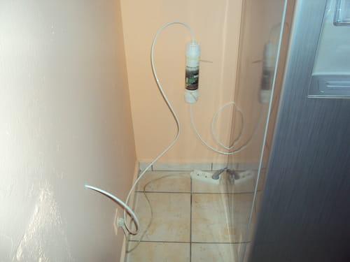 raccorder eau frigo americain r solu. Black Bedroom Furniture Sets. Home Design Ideas