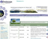 Planetoscope : lancement d'une base de données en temps réel sur l'écologie sur le Net