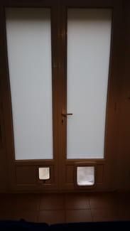 enlever une chatière d'une porte fenêtre - Comment Installer Une Chatiere Dans Une Porte En Bois