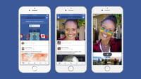 Facebook teste des fonctions à la Snapchat