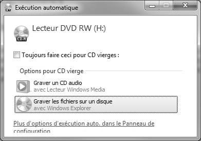 windows 7 graver un cd dvd. Black Bedroom Furniture Sets. Home Design Ideas