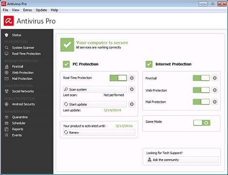 Descargar Gratis Panda Cloud Antivirus Free 1.1.2