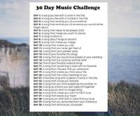 Twitter et les 30 Days Challenge