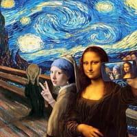 Van Gogh, Moyen-Age et mèmes : quand l'art inspire internet