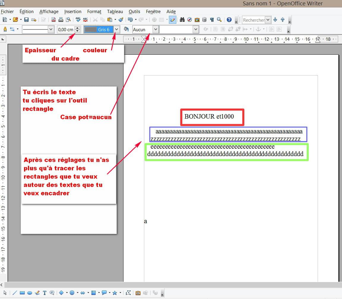 Comment mettre une image pdf sur open office