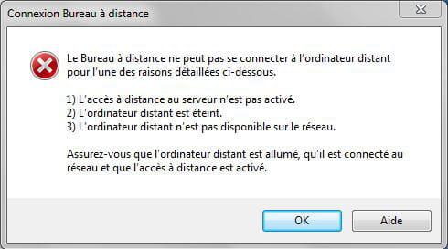 Windows server 2008 et bureau distance