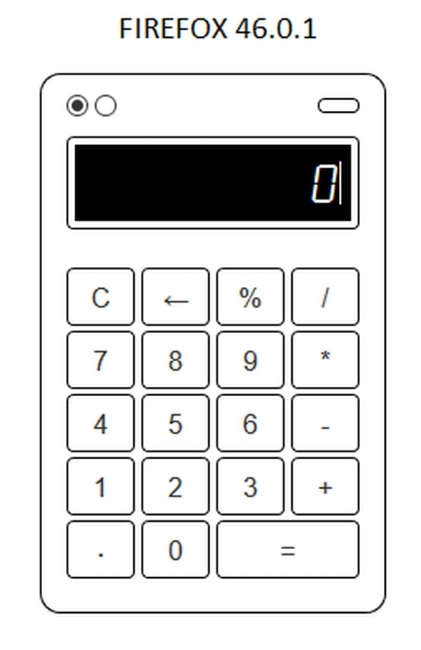 Calculator codes in visual basic 6.0