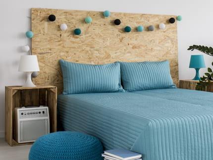 fabriquer une tete de lit. Black Bedroom Furniture Sets. Home Design Ideas