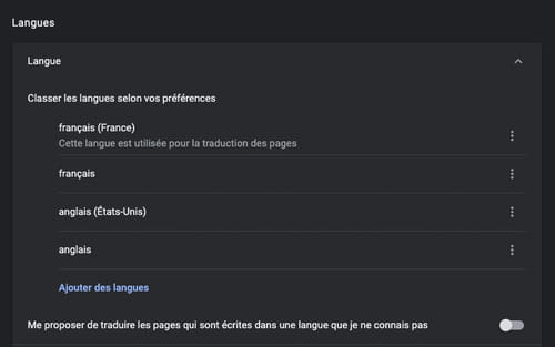 Gérer les options et les notifications de traduction de Google Chrome GOOGLE-TRAD-4