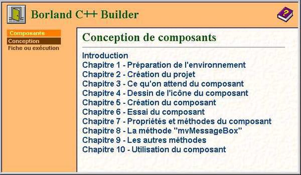 C C C Net Conception De Composants Borland C Builder