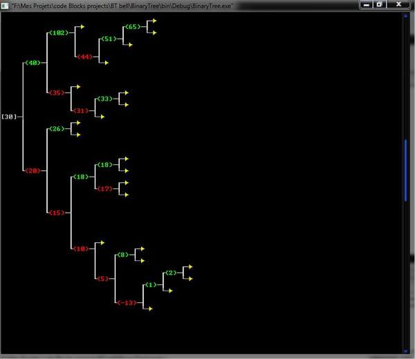 binaire en c