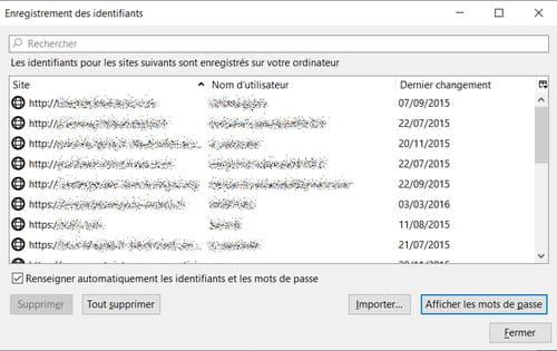 Protéger les mots de passe enregistrés dans Firefox PRAT02