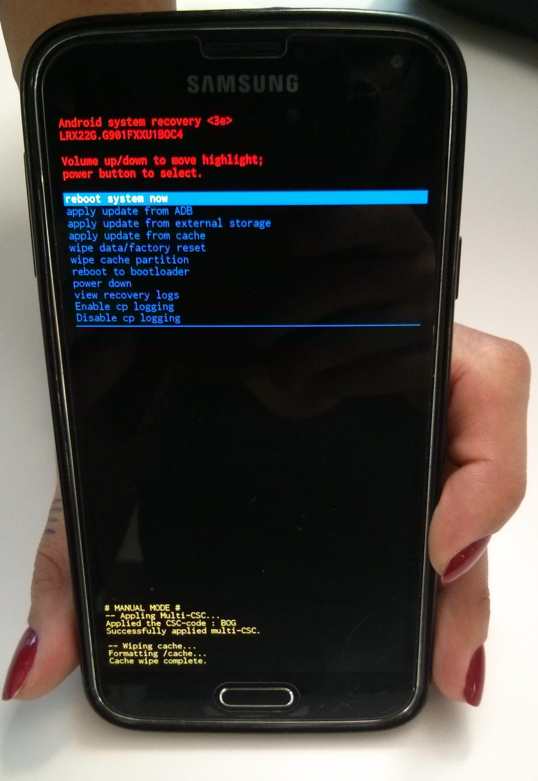 Como limpar o cache do sistema no Samsung Galaxy S5