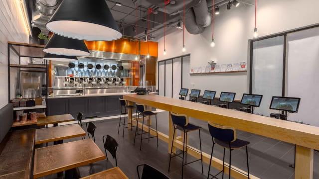 Le restaurant où le chef est un robot