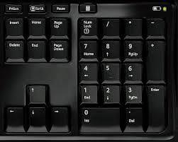 Activer le clavier numérique du Macbook