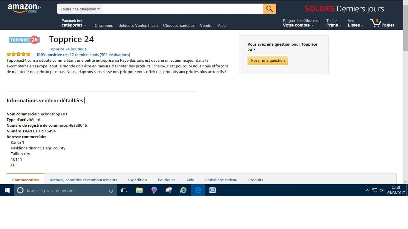 Un site fiable ?? [Résolu] Forum Consommation et internet