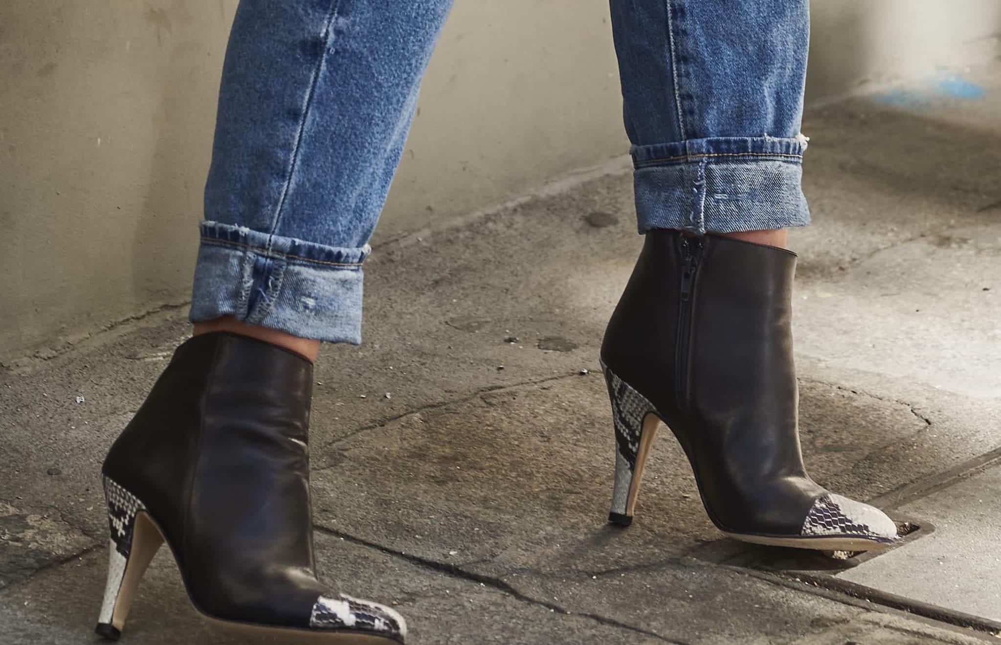 chaussures à talon tendance et confortables
