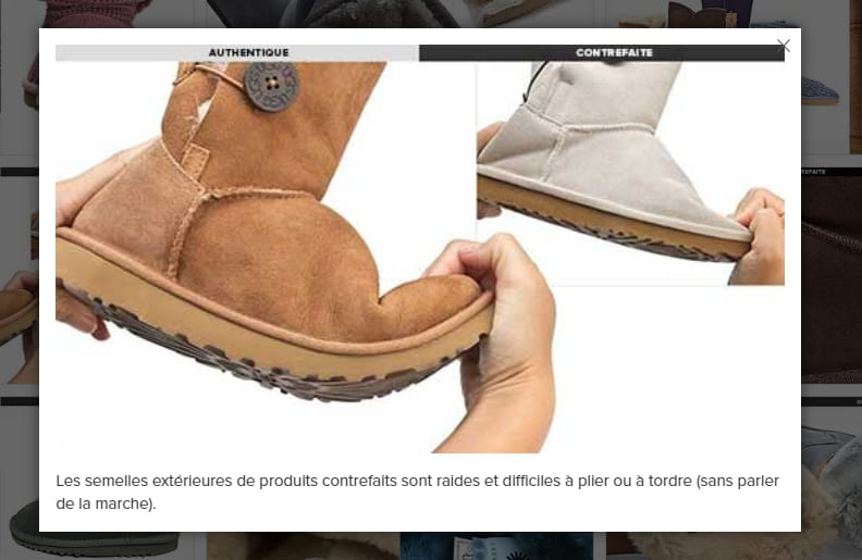 fausses uggs femme