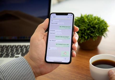 Sauvegarder des SMS et des iMessages sur iPhone
