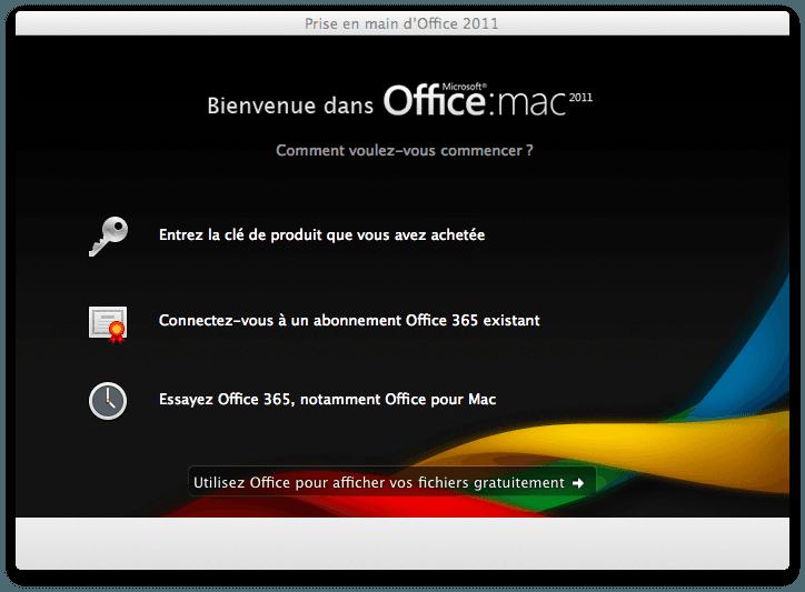 Activation office 365 famille sur macbook air r solu - Office 365 comment ca marche ...