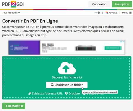 Creer Et Convertir Gratuitement Des Fichiers En Pdf