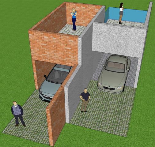mur mitoyen ou mur privatif photo. Black Bedroom Furniture Sets. Home Design Ideas