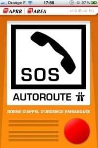 """SOS Autoroute, première """"borne"""" d'appel d'urgence mobile"""