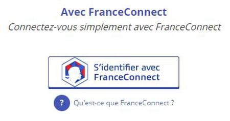 Se connecter avec FranceConnect