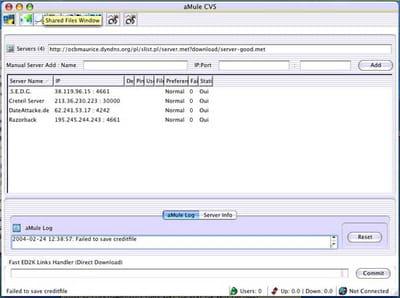 Télécharger aMule (Mac) (gratuit)