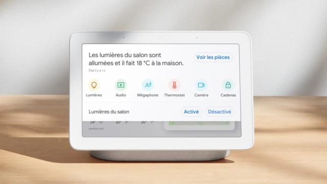 Le Google Home devient Nest Hub en France