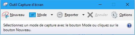 Capture d'écran sous Windows avec l'outil Capture