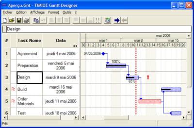Tlcharger gantt designer gratuit gantt designer peut planifier vos tches en prcisant le dbut de luvre ainsi que la fin voire le calendrier du projet ccuart Gallery