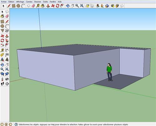 ce logiciel est plutt orient vers l architecture et s avre assez peu accessible pour le - Logiciel Pour Faire Plan De Maison