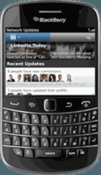 LinkedIn met à jour son application pour BlackBerry 6 et 7