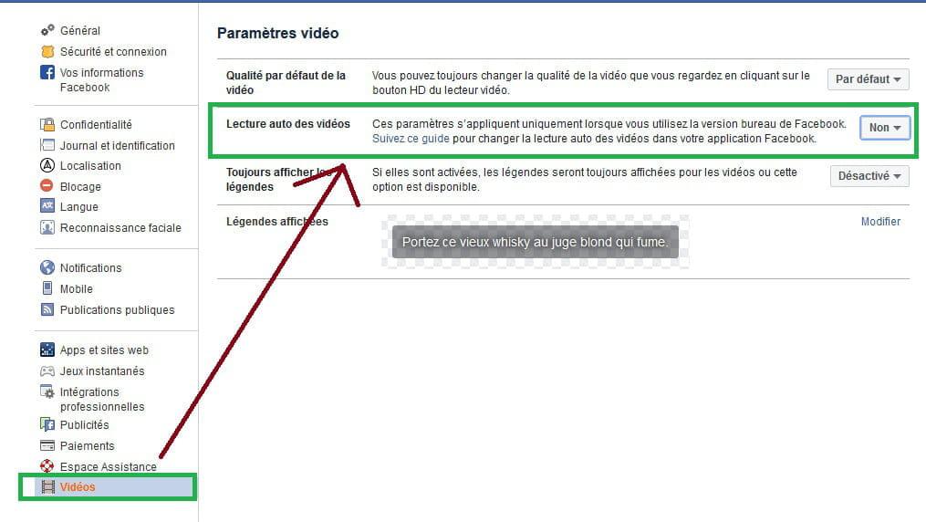 Empêcher Laffichage Des Vidéos De Couverture Facebook
