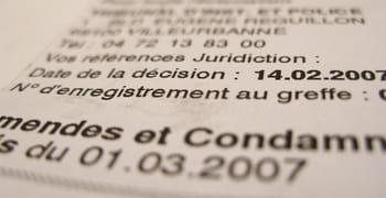 Casier Judiciaire Et Liste Des Condamnations