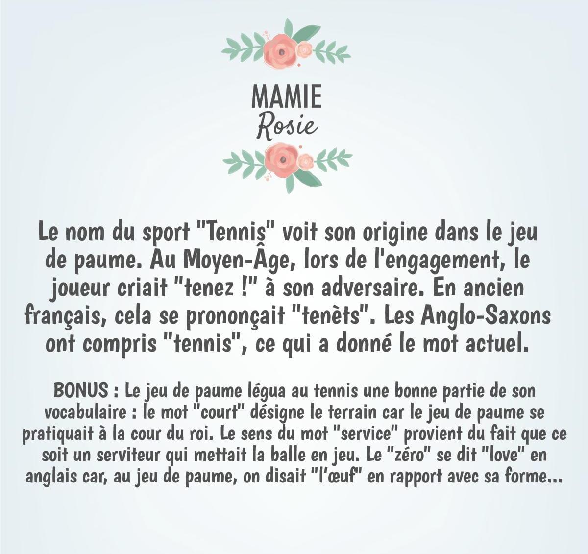 Accessoires Salle De Bain Lorient ~ Les Mots De Mamie Rosie Tymologies Et Anecdotes Etymologie