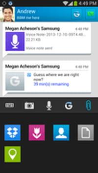BlackBerry : BBM 2.0 pour Android et iOS intègre de nouveaux outils de communication