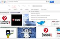 Google Images : la recherche par droits d'utilisation facilitée