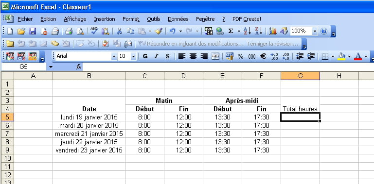 Calcul Nombres D Heures Resolu Forum Excel